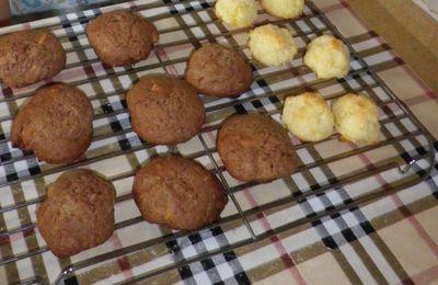 Cookies et Rochers Coco pour le goûter !