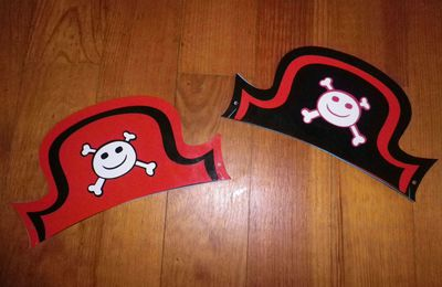 """""""Masques"""" Chapeaux de pirates"""