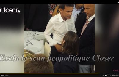 """#Valls à l'Université du PS : une """"claque amicale"""", c'est ça ouais..."""