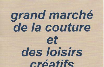 Grand marché de la couture et des loisirs créatifs à Mansle (16230) : du 12 au 14 mai 2017
