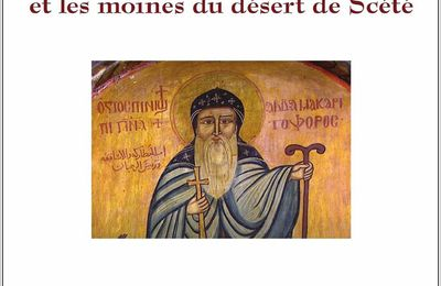 Saint Macaire et les moines du désert de Scété