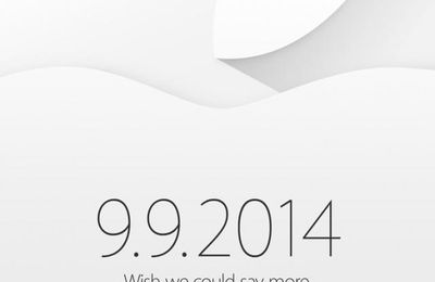 La keynote d'Apple aura lieu le 9 septembre