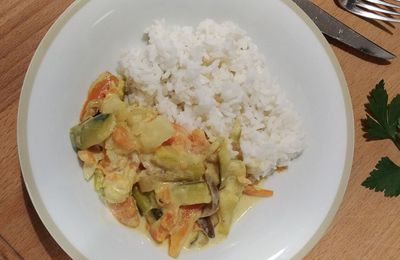 Curry de légumes (et Degustabox)