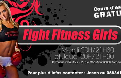 Nouvelle section de Boxe féminine : Fight Fitness Girls à Impacts!
