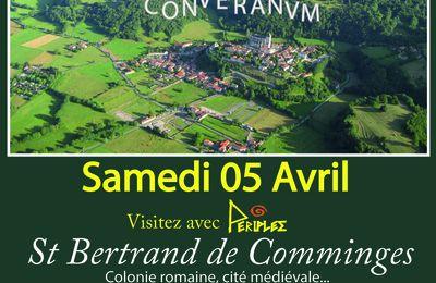 Sortie Périples à Saint-Bertrand-de-Comminges et villa de Montmaurin le 5 avril