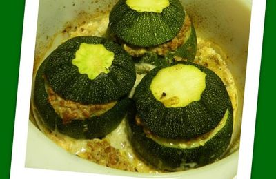 Courgettes farcies express