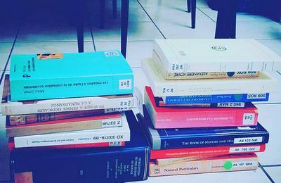 Petite liste de livres d'Histoire // Small list of history books