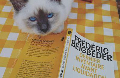 """Dernier inventaire avant liquidation - Frédéric Beigbeder """"Défi Beigbeder"""""""