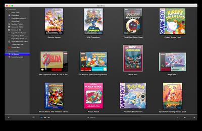 Jeux rétro et Mac : openEmu !