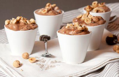 Mousse au chocolat aux noisettes et orange confite : recette pour le Yummy Day doudou