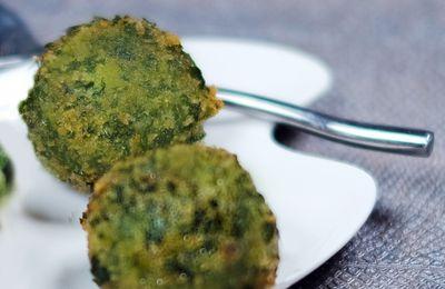 Croustillants (ou cromesquis) d'escargots au beurre de persil et d'ail