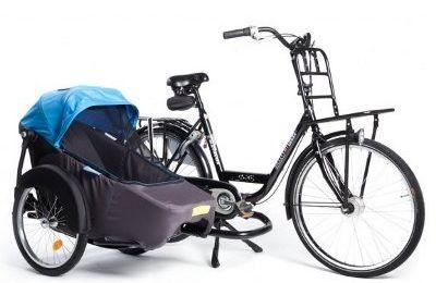 Astucieux : la remorque multi-position pour partager différement à vélo