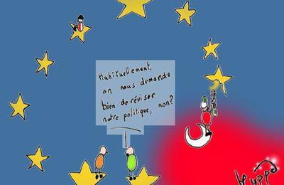 La désintégration européenne de l'Erdogarquie