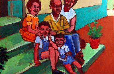 La famille, haïkus, tercets et toiles de maîtres, Lenaïg