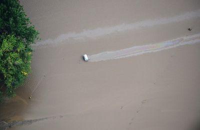 Des forages de fracturation sous les eaux