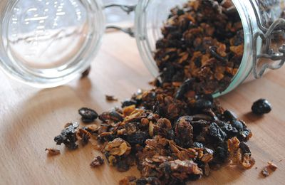 {Healthy et Home Made} Granola