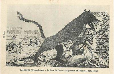 La bête du Gévaudan en Auvergne