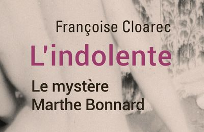 L'indolente - Françoise Cloarec