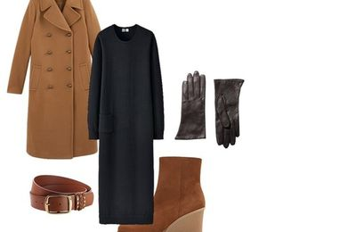 Un manteau camel : 3 looks