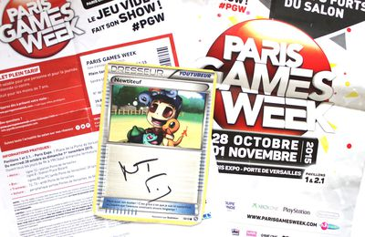 Paris Games Week, maman de geek