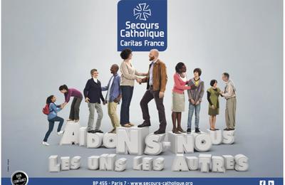 Journée nationale du Secours Catholique : 16 novembre 2014