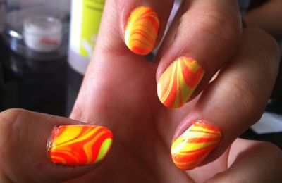 water marble fluo