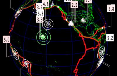 Séisme de magnitude 5.3 près du volcan Kïlauea