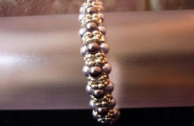 "Bracelet ""Black Pearls"""