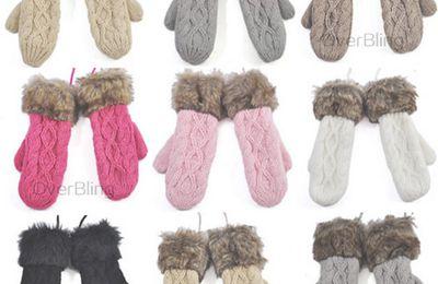 Moufles de laine