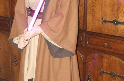 Chevaliers jedis Ekaterina et Carbanïon!  / Jedis knights Ekaterina and Carbanïon!