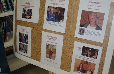 Exposition au CDI : le film du club mémoires