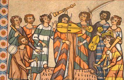 Musique médiévale au CDI