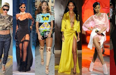 "FASHION KILLA : Rihanna a été élue ""Fashion icon of the year"""