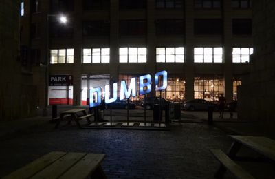 New York City, DUMBO by night - Mai 2017.