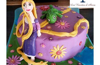 Gâteau Raiponce Disney