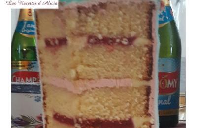 Gâteau Princesse et Krillin