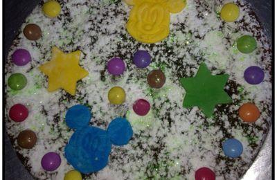 Gâteau d'anniversaire enfant Mickey Minnie
