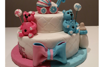 Gâteau baby shower