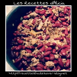 Chili con carne minute