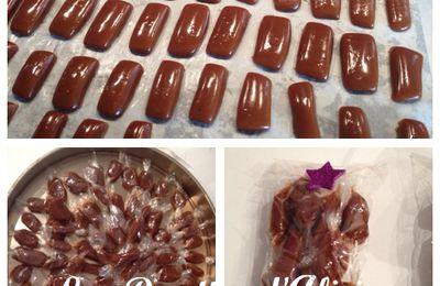 Bonbons moux caramel beurre salé