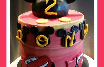 Gâteau Mickey Cars
