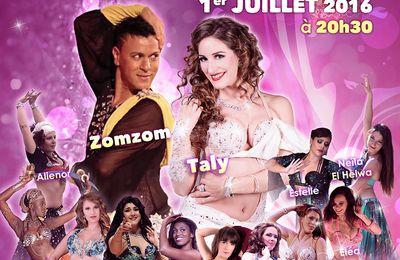 """""""ORIENTAL GROOVE 3"""" Grand spectacle de danse orientale  à Bordeaux"""