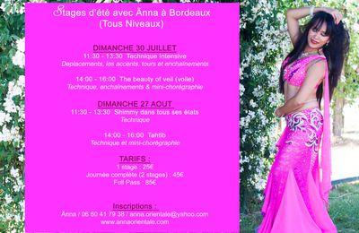 Stages d'été à Bordeaux avec Änna