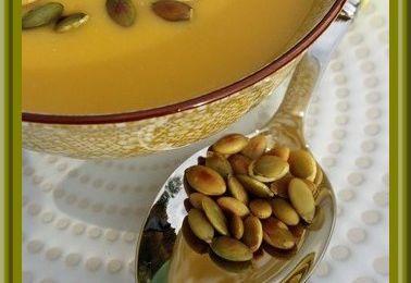 Soupe de Potiron  au Roquefort