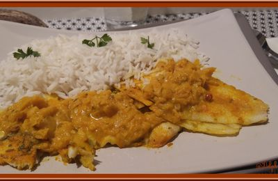 Filets de Limande au Curry