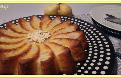 Gâteau ultra léger aux poires