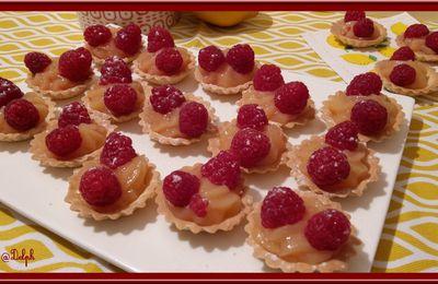 Tartelettes Citron  Framboises