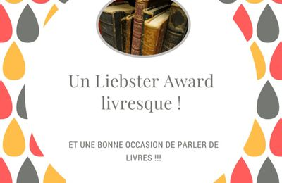 Liebster Award Livresque - 2 & 3