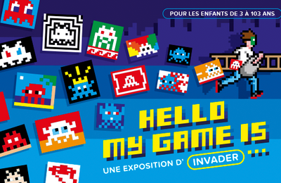 Exposition « Hello my game is… » - Musée en Herbe - Paris