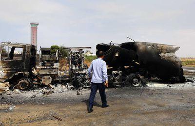 Libya attack destroys '90% of Tripoli airport jets' (Al Arabiya News)